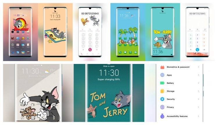 Tom and Jerry theme for EMUI